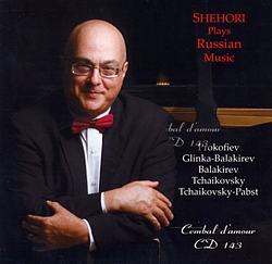 Cembal d'amour CD 143, Shehori Plays Russian Music