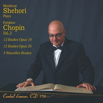 Shehori Plays Chopin Etudes