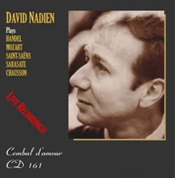 CD 161 David Nadien, Violin