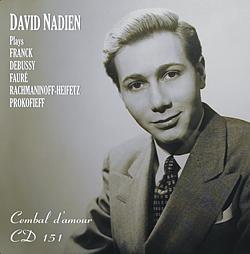 Nadien Franck Debussy remaster